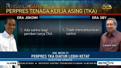Perbandingan Perpres TKA antara Jokowi vs SBY