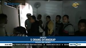 Polisi Gerebek Sarang Narkoba di Kampung Ambon