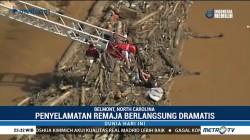 Evakuasi Remaja di Sungai Berarus Deras Berlangsung Dramatis