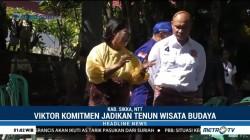 Viktor Laiskodat Blusukan ke Kabupaten Sikka
