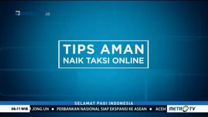 Tips Aman Naik Taksi Online