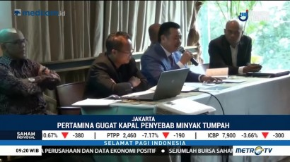 Pipa Patah, Pertamina akan Gugat Kapal MV Ever Judger