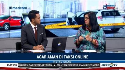 Agar Aman di Taksi Online