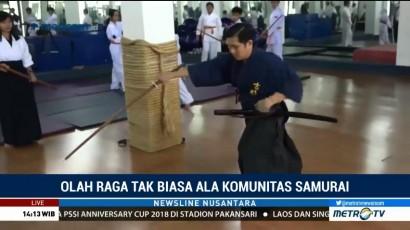Olah Raga Unik ala Komunitas Samurai