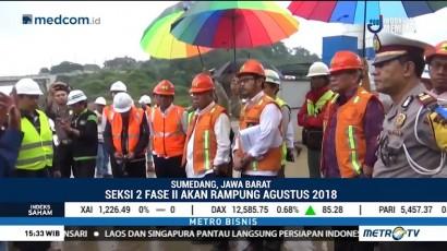 Menteri PUPR Tinjau Pembangunan Tol Cisumdawu
