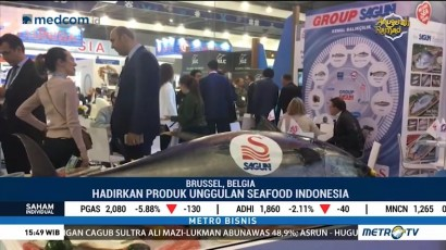 Hasil Laut Indonesia Dipromosikan di Seafood Expo Global