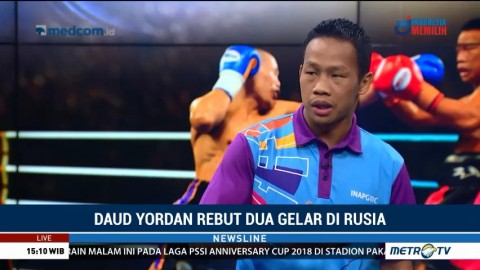 Cerita di Balik Kemenangan Daud Yordan