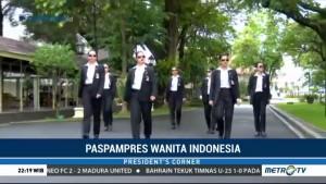 Mengenal Paspampres Wanita Indonesia