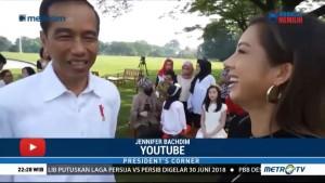 Kala Jokowi Ngobrol Bareng Vlogger