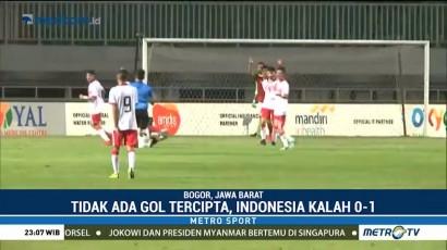 Timnas Indonesia U-23 Kalah Tipis atas Bahrain