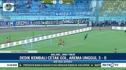 Kalahkan Persipura, Arema FC Akhiri Puasa Kemenangan