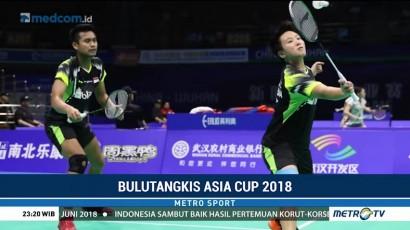 Dua Wakil Indonesia Melaju ke Semifinal Kejuaraan Bulu Tangkis Asia