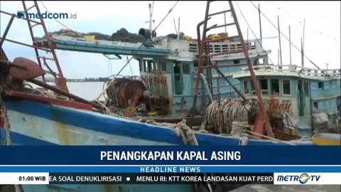 Dua Kapal Pencuri Ikan Berbendera Vietnam Ditangkap