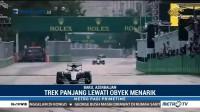 GP Baku Perlihatkan Keindahan Kota