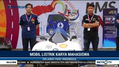 Mobil Listrik Karya Mahasiswa Unjuk Gigi di IIMS 2018