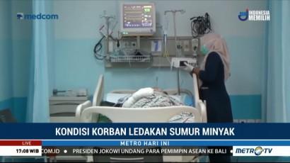Kondisi Terkini Korban Ledakan Sumur Minyak di Aceh