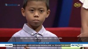 Ini Akhyar, Si Bocah 'Kalkulator' dari Makassar