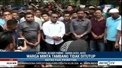 Warga Aceh Timur Minta Sumur Minyak Tak Ditutup
