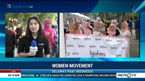 Sejumlah Komunitas Perempuan Ikuti Kegiatan Women Movement di Jakarta