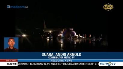 Tak Ada Korban Jiwa dalam Tergelincirnya Pesawat di Gorontalo