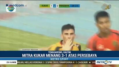 Mitra Kukar Bungkam Persebaya 3-1