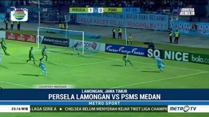 Persela Lamongan Kalahkan PSMS Medan 4-1