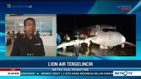 Lion Air Tergelincir di Bandara Gorontalo, 12 Penerbangan Dibatalkan