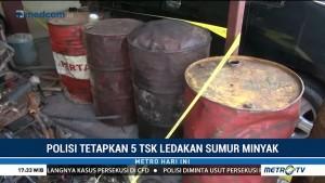 Polisi Tetapkan Lima Tersangka Ledakan Sumur Minyak di Aceh