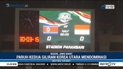 Timnas Indonesia U-23 Ditahan Imbang Korea Utara
