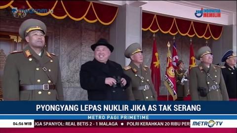 Pyongyang Lepas Nuklir Jika AS Tak Serang