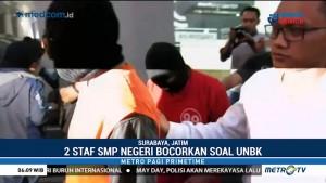 Pembocor Soal UNBK SMP di Surabaya Ditangkap