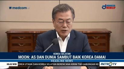 Dunia Dukung Perdamaian di Semenanjung Korea