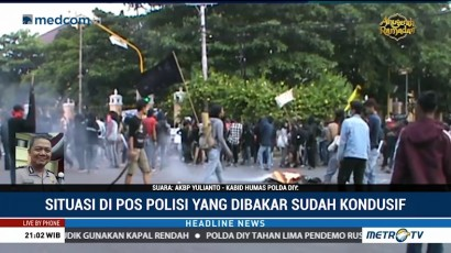 69 Orang Diperiksa Terkait Kericuhan Demo Hari Buruh di Yogyakarta