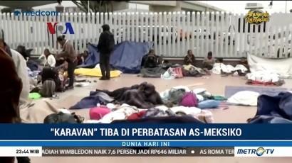 Nasib 'Karavan' Migran di Perbatasan AS-Meksiko