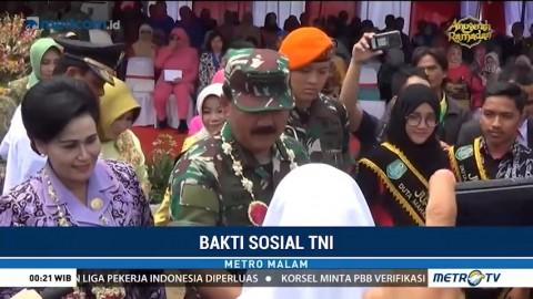 Panglima TNI Buka Kegiatan Bakti Sosial di Kabupaten Hulu Sungai Utara