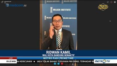 Ridwan Kamil Jadi Pembicara di Forum Dunia
