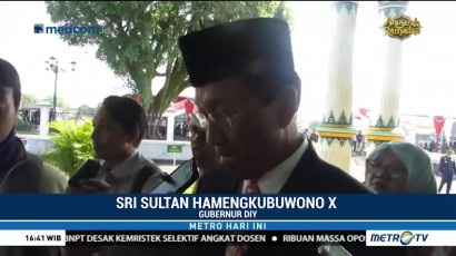 Sri Sultan HB X Yakin Ada yang Menunggangi Aksi Demo Buruh