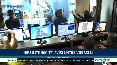Media Group Hibahkan Studio TV untuk Vokasi UI