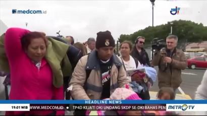 Pencari Suaka asal Honduras Banjiri Perbatasan AS