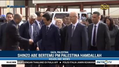 Perdana Menteri Jepang Kunjungi Gaza