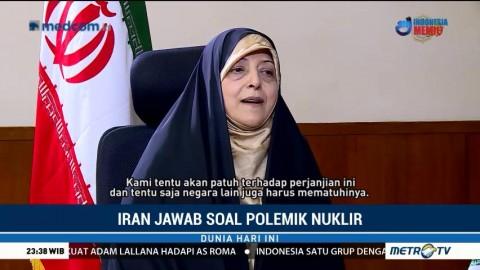 Jawaban Wakil Presiden Iran Soal Polemik Nuklir