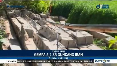 Gempa 5,2 SR Guncang Selatan Iran