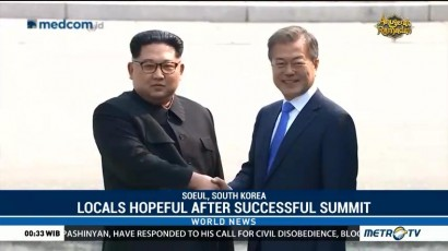 South Koreans Hopeful After Successful Summit