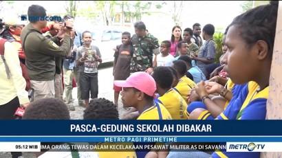 Sekolah Dibakar Kelompok Separatis, Siswa di Banti Terlantar