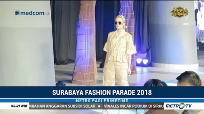 Surabaya Fashion Parade 2018 Tampilkan Kebhinekaan Indonesia