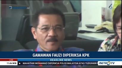 Gamawan Fauzi Diperiksa sebagai Saksi Kasus Korupsi IPDN Sumbar
