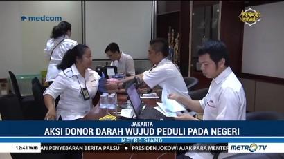 Metro TV Gelar Donor Darah