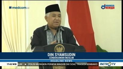 Din Syamsuddin: Nilai-Nilai Islam Wasattiyah Disebarkan Lewat Pendidikan