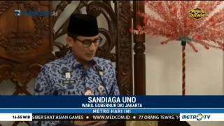 Pemprov DKI akan Beri Sanksi ke Panitia Bagi-bagi Sembako di Monas