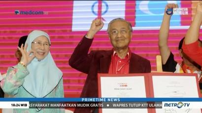 Mahathir Mohamad Diperiksa Polisi